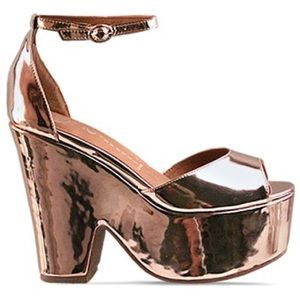 JEFFREY CAMPBELL BRAZEN Split-Wedge Heel